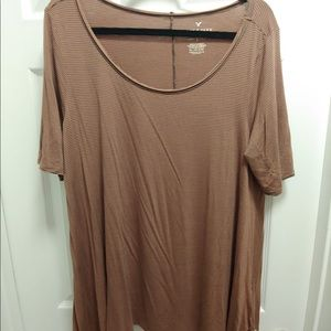 American Eagle Scoop Neck Super Soft Tee